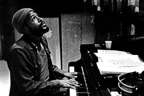 Marvin Gaye In The Studio