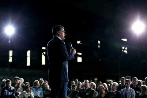 Mitt Romney Campaigns In Ohio Day After Michigan And Arizona Primary