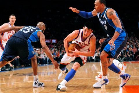 New York Knicks point guard Lin