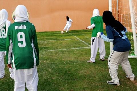 Saudi members of the King's United women