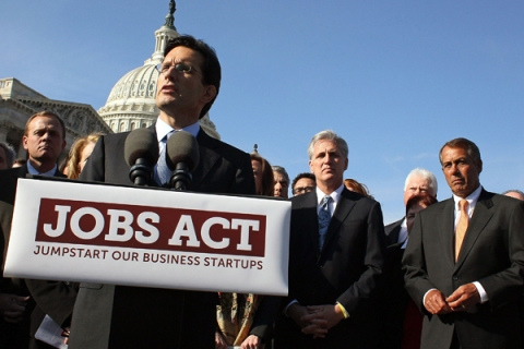 Speaker Boehner And House Republicans Unveil Jobs Act