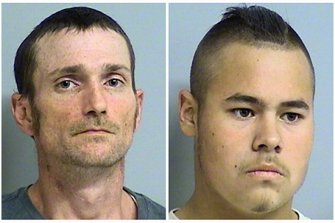 Police arrest two men in fatal Oklahoma shooting spree