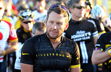 Team Livestrong Challenge Bike Ride With Lance Armstrong