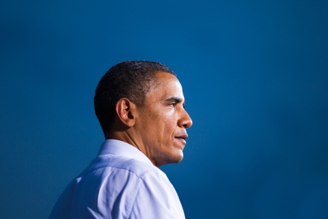President Obama campaigns in Virginia