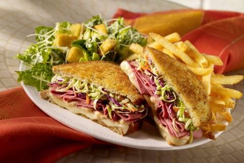 Pastrami and Swiss Reuben Sandwich