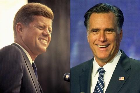 JFK-Mitt-Romney