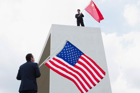Image: China rivals the United States