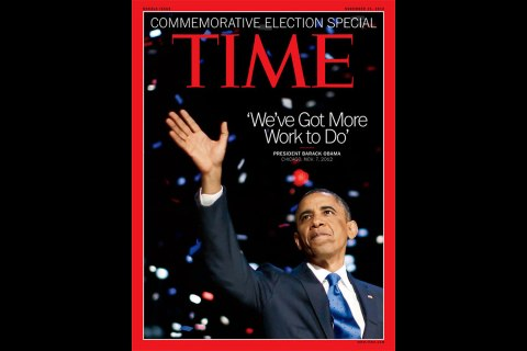 Time's election cover