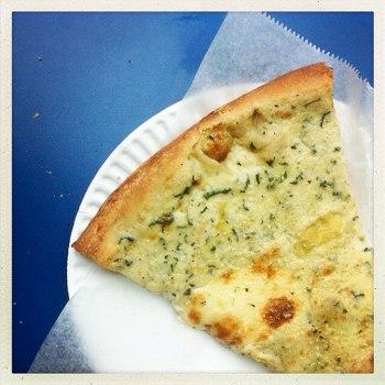 image: Artichoke pizza