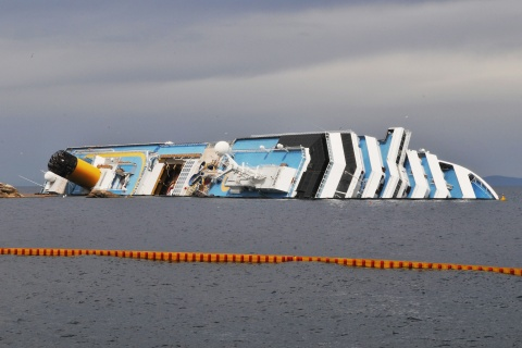 Salvage Teams Prepare To Refloat Costa Concordia