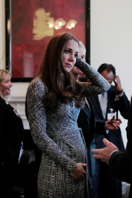 Catherine, Duchess of Cambridge, visits Hope House