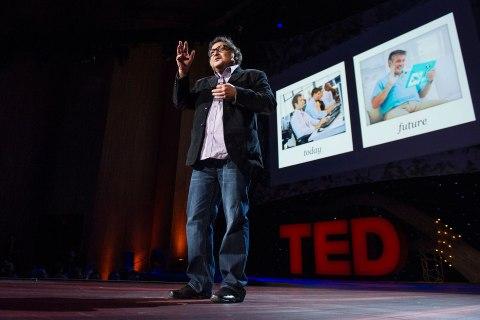 Sugata Mitra TED prize