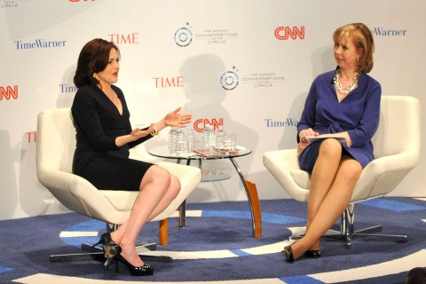 TIME WARNER'S CONVERSATIONS ON THE CIRCLE: A Conversation With Sheryl Sandberg, Chief Operating Officer, Facebook And Moderated By Nancy Gibbs, Deputy Managing Editor, TIME