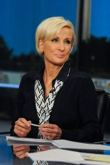 "Mika Brzezinski of MSNBC's ""Morning Joe"""