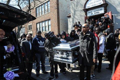 Kimani Gray Funeral
