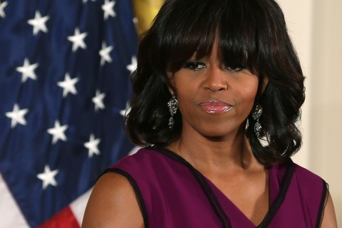 First Lady Michelle Obama Presents National Medal For Museum And Library Service