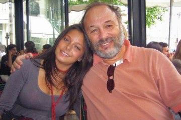 Joe Klein with his daughter, Sophie.