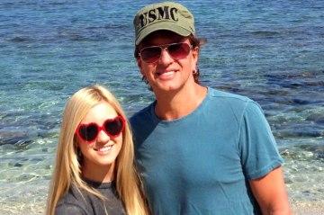 Richie Sambora with his daughter, Ava.