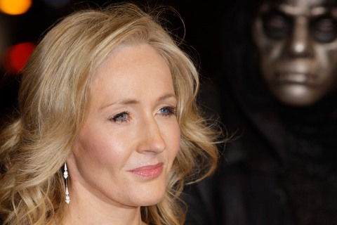 J.K. Rowling arrives at the World Premiere of Harry Potter and the Deathly Hallows Part 1 in London, on Nov. 11, 2010.