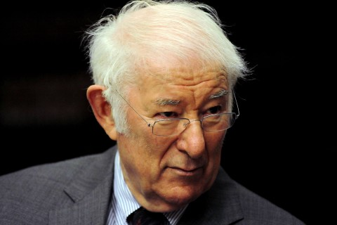 Seamus Heaney, Recipient of 1995 Nobel Prize for Literature, In Bologna