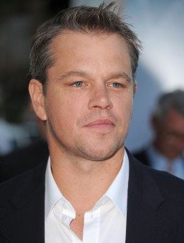 "Matt Damon at the ""Elysium"" premiere in Los Angeles on Aug. 7, 2013."