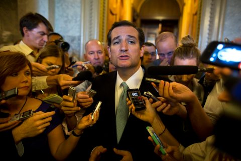 Senator Cruz Speaks for More Than 21 Hours on Senate Floor