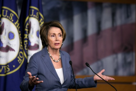 Nancy Pelosi Holds Weekly News Conference As Gov't Reopens