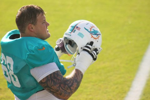 Miami Dolphins lineman Richie Incognito on Nov. 4, 2013.