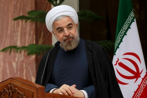 Iranian President Hassan Rouhani attends a press conference at the presidential palace in Tehran, on Nov. 22, 2013.