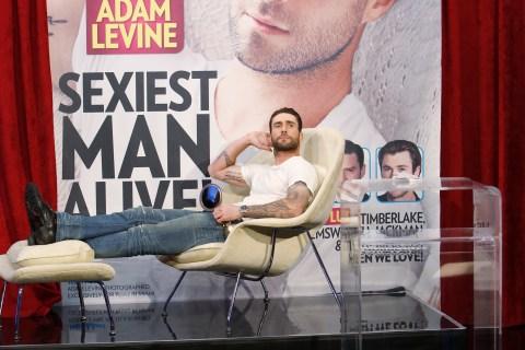 Adam Levine, Sexiest Man Alive