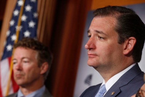 Rand Paul, Ted Cruz