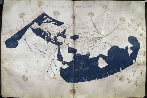 Claudius Ptolemy, World Map, 150AD
