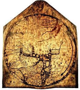 Richard of Haldingham, Mappa-mundi, 1300