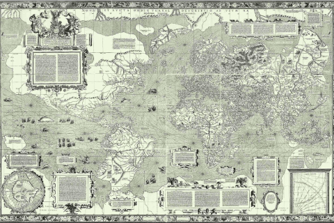 Gerard Mercator, World map, 1569