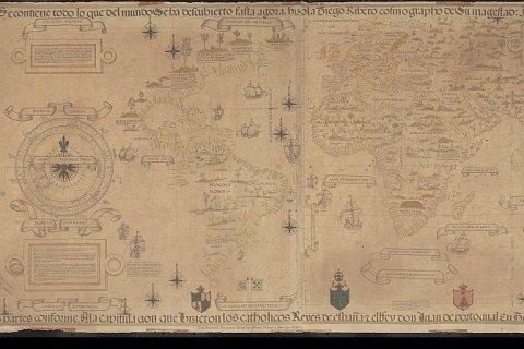 Diogo Ribeiro, World map, 1529