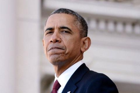 U.S. President Barack Obama during a ceremony on Veterans Day at Arlington National Cemetery in Arlington, Va., on Nov. 11, 2013.