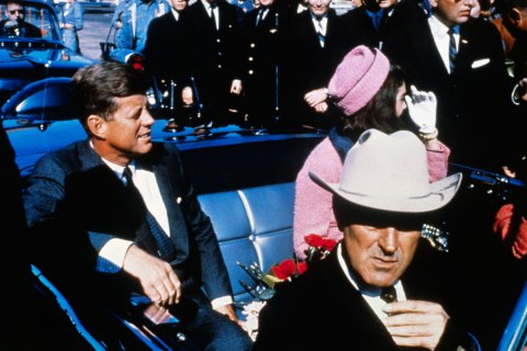 John Connally with Jackie and John F Kennedy
