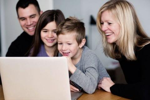 Family laptop
