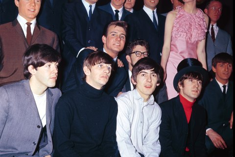 Photo of Billy J KRAMER and BEATLES and Cilla BLACK and Rolf HARRIS