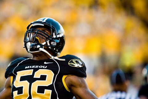 Missouri Lineman Michael Sam File Photo