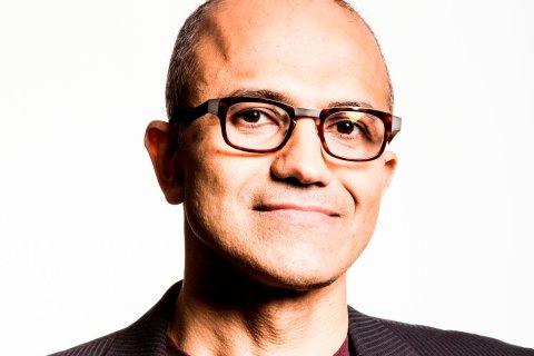 Satya Nadella, executive vice president of Microsoft's Cloud and Enterprise group, Feb. 4, 2014.