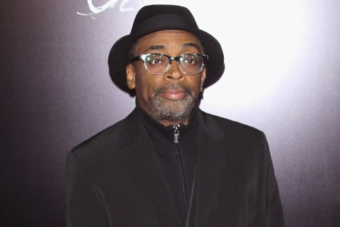 "Director Spike Lee attends a screening of ""OldBoy"" in New York City, November 11, 2013."