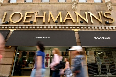 Loehmann's Shoppers In New York City